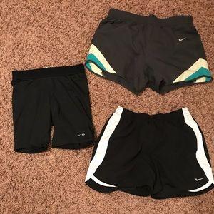 Shorts + Spandex